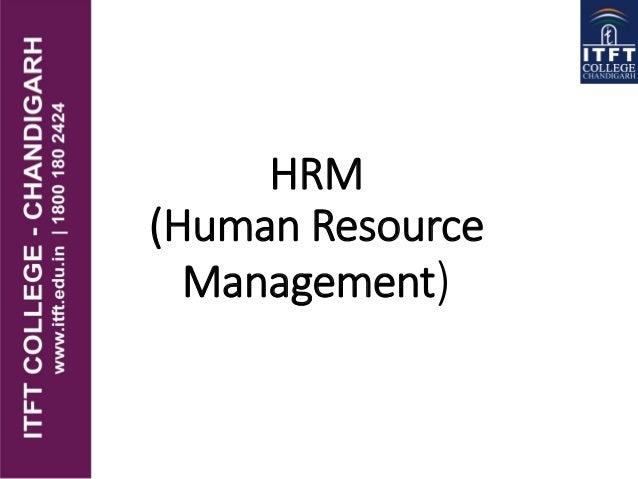 HRM (Human Resource Management)