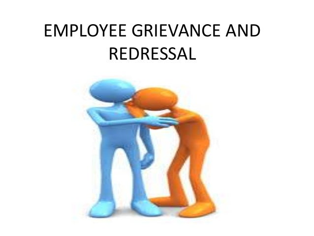 how to deal with grievance at work
