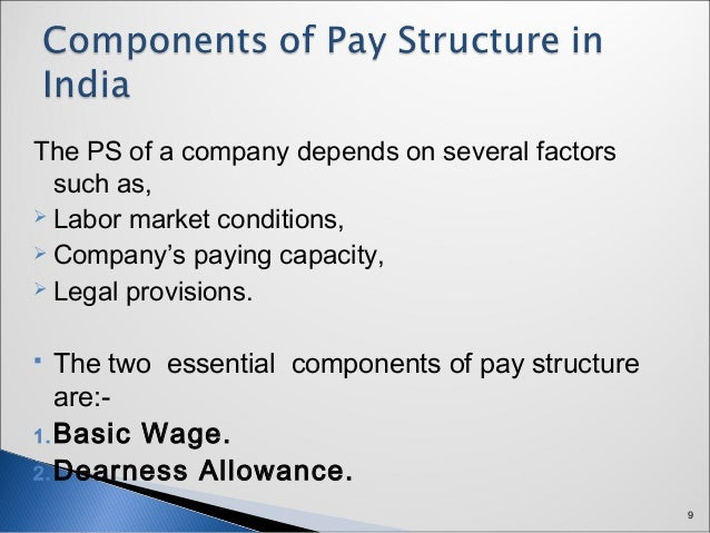basic wage component of pay packet Know how to calculate hra from basic salary is an essential component of an individual's salary that i live in a house owned by my spouse and pay.