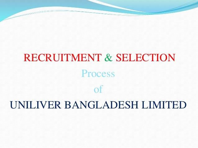 Unilever Bangladesh Job Circular 2018 – www.unilever.com.bd