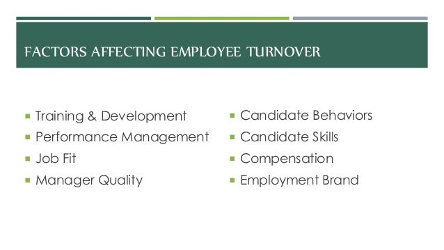 employee compensation and turnover 2016 turnover rates by industry in response to the many, many requests received and continuing a long tradition here at the force, i am pleased to bring you the latest turnover rates by industry, provided to us by compdata surveys.