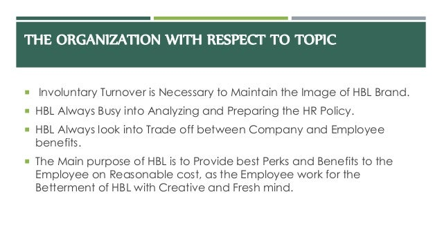 analysis hr turnover Attrition is often part of the turnover analysis human resources experts define attrition as a decrease in the workforce via voluntary departures.