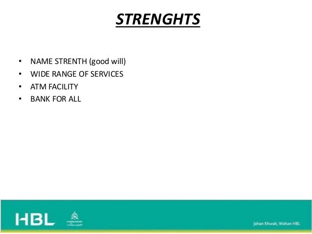 swot analysis of soneri bank Internship report on bank alfalah ltd 2011  v muslim commercial bank v standard chartered v soneri bank ltd v prime commercial bank v the bank of punjab v bank al-habib ltd v abl  swot analysis strengths bank has a belief in customer service.