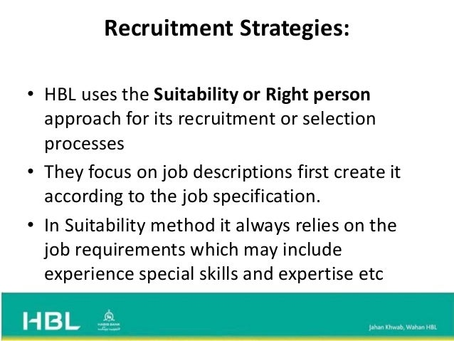 recruitment and selection analysis of british Test and improve your knowledge of employee recruitment & selection with fun multiple choice exams you can take online with studycom  job analysis summary.
