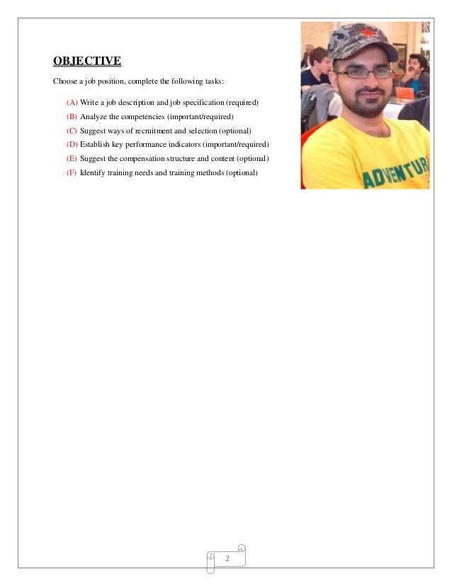 wgu human resources task 2