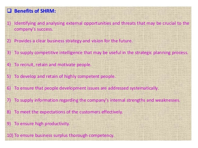11 5P Model Of SHRM The 5