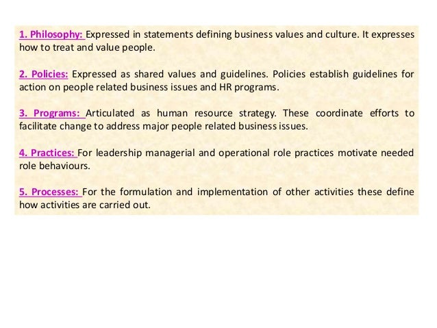 Strategic human resource management shrm 13 how shrm differs from hrm fandeluxe Gallery