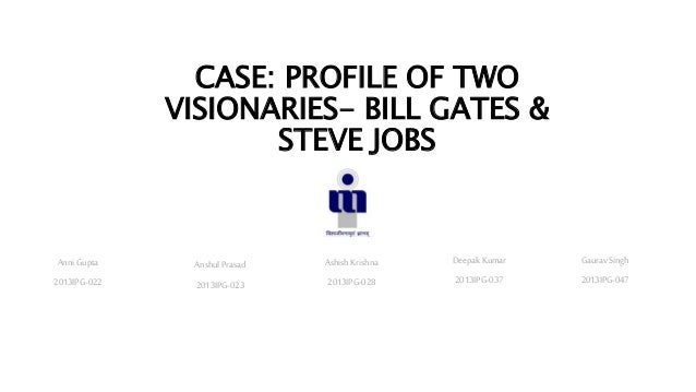 bill gates and steve jobs case study Bill gates and steve jobs were the best of frenemies.