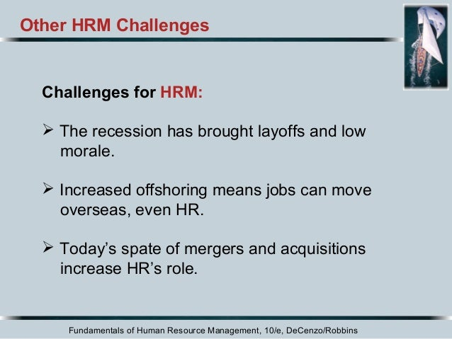 hrm chapter 1 Provides a complete introduction to human resource management for the general  business manager who wants to  chapter 1: managing human resources.