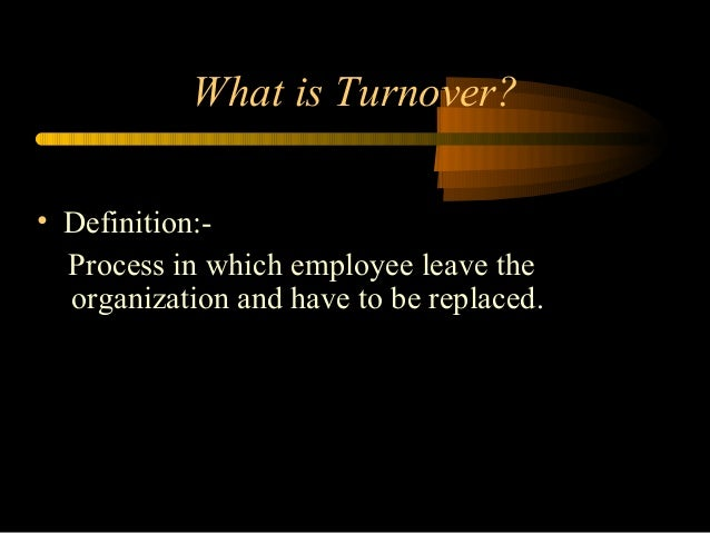 HRM Employee Turnover