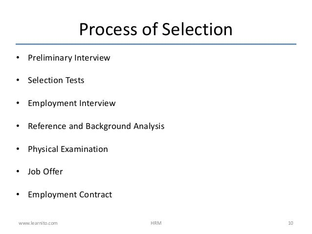 hrp recruitment Office of human resources new recruitment process and procedures january 2009.