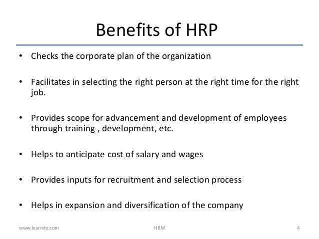 human resources planning recruitment selection essays
