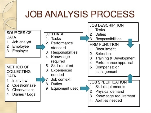 Job Analysis Template  CanelovssmithliveCo