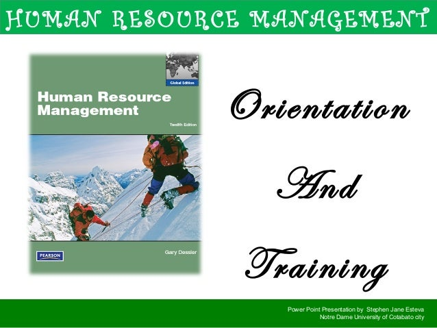 hrm by dessler Dessler, gary human resource management/gary dessler 13th ed p cm  includes bibliographical references and index isbn-13: 978-0-13-266821-7.