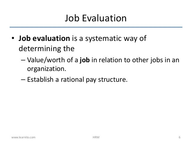 compensation evaluation essay View this essay on aligning employee compensation to the performance ceos critique and evaluate considerations that are traditionally used to determine ceo.
