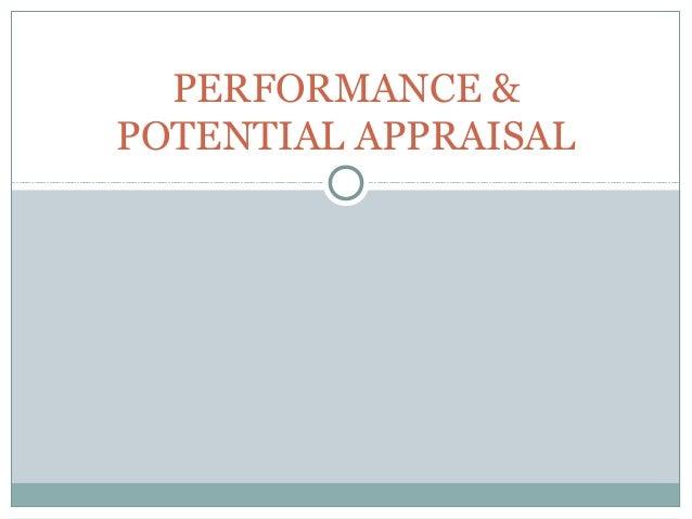 Hrm performance appraisal