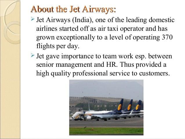 Case Study Jet Airways