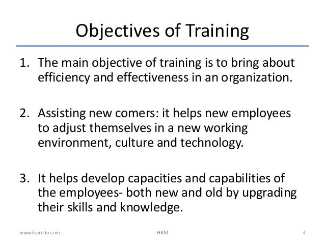 Management – Efficiency and Effectiveness