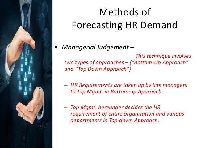 Top Five Forecasting Techniques In Human Resource Management