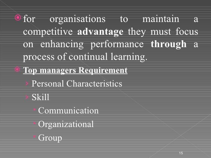 human resources competitive advantage Competitive advantage through human resource management: best practices  or core competencies show all authors nicolas bacon nicolas bacon.