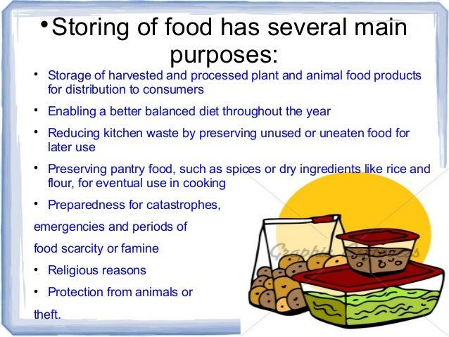 5. ? Storing of food ...  sc 1 st  SlideShare & KEEPING FOOD SAFE IN STORAGE