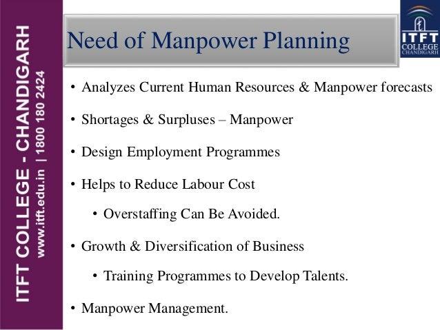 needs manpower