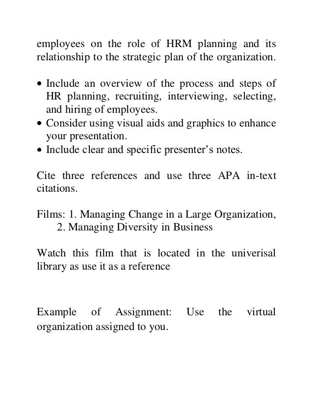 hrm 560 week 4 assignment 2 Here is the best resource for homework help with hrm 560 : managing organizational change at strayer find hrm560 study guides, notes, and practice tests from find study resources main menu hrm 560 week 10 assignment 4 strayer.