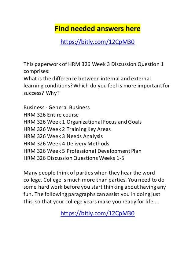 HRM 326 (Employee Development)Week 4HRM 326 Week 4 DQ 1How has technology chang