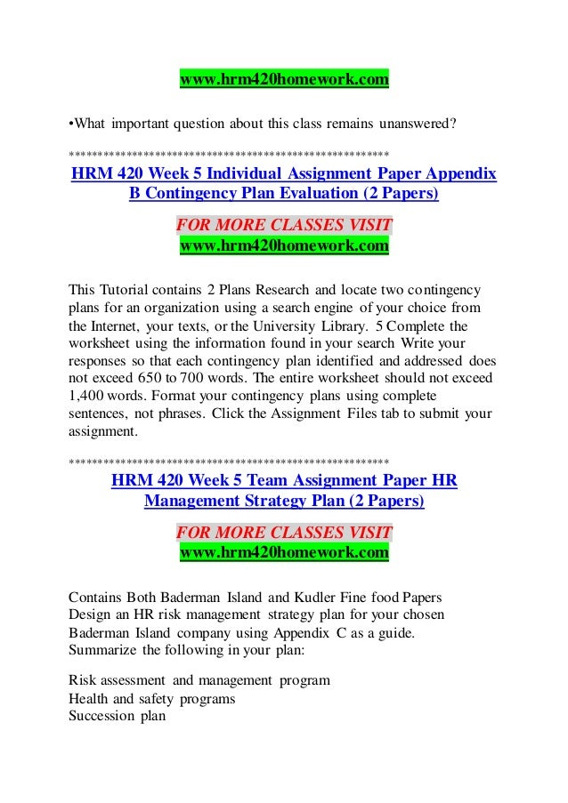 hrm 420 week1 Description acct 505 managerial accounting all weeks answers acct-505 managerial accounting_week1_ac 505 case study i acct-505 managerial accounting_week1_ac 505 case study i.