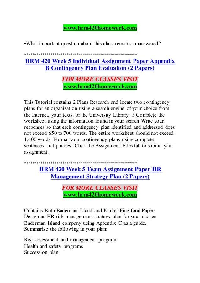 hrm 420 week 4 Description hrm 420 week 4 health and safety program hrm 420 week 4 health and safety program.