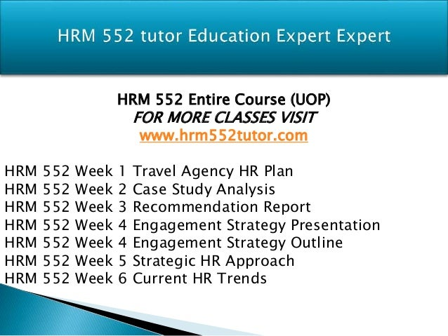 hrm 552 Description hrm 552 week 3 change management report hrm 552 week 3 change management report a small manufacturing company is shifting its direction in light of changes in the competitive environment in which it operates.