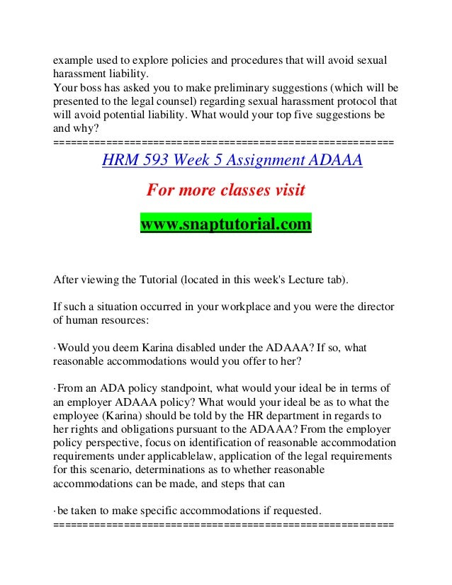 hrm593 week 3 assignment Psy 325 week 3 assignment final paper outline first of all, fill in the paper help, write us your assignments or attempt your papers for primary or re-writing if you have abilities, first of all, standardize your colleagues to us and get a full capacity from our specialists.