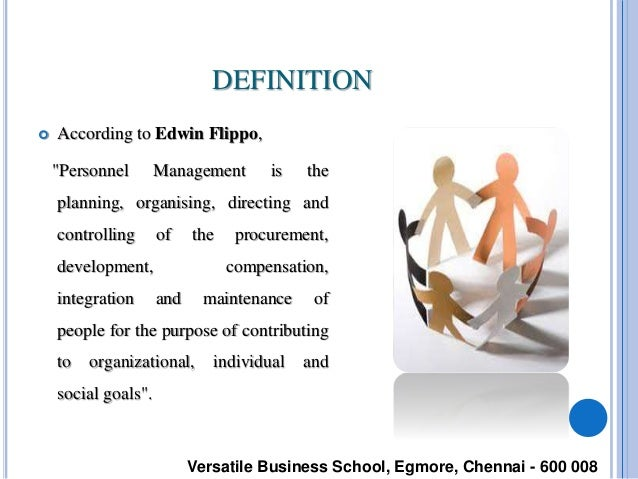 personnel management by edwin flippo All about the personnel management in the industry chandrakant shukla definitions of personnel management 1 definitions of personnel management edwin flippo.