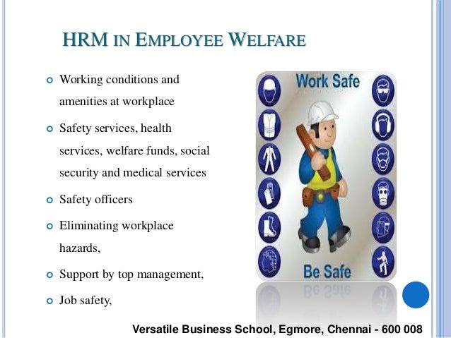 Employee welfare human resource management