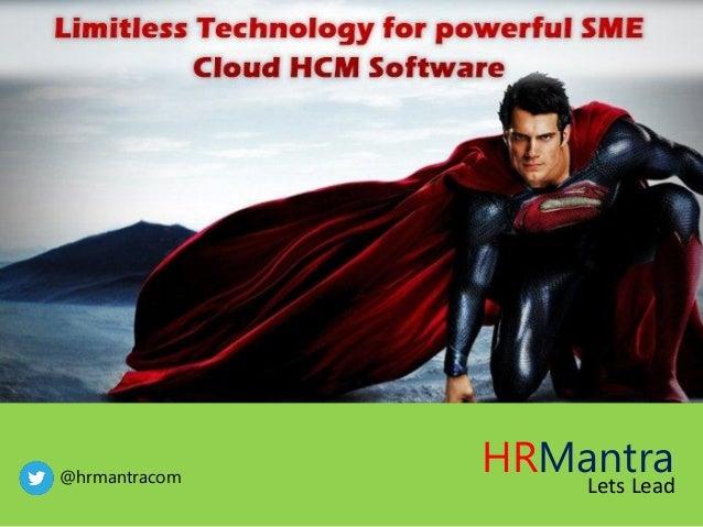 HRMantra Lets Lead@hrmantracom