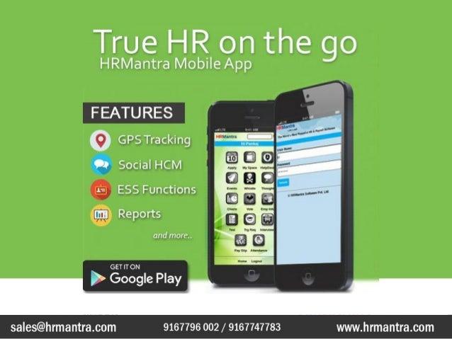 HR On Mobile : HRMantra mobile