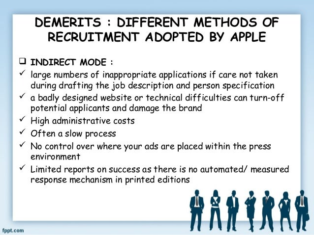 RECRUITMENT OF APPLE INC