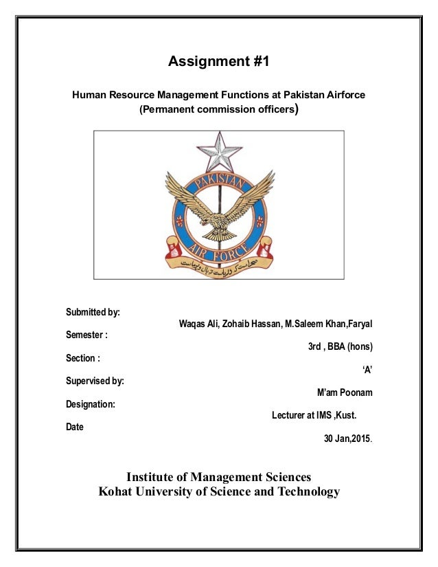 Air Force Assignment Management System