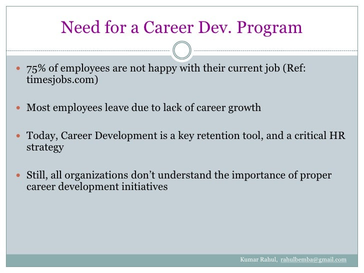 career development in hrm by kumar rahul genesis of career development<br