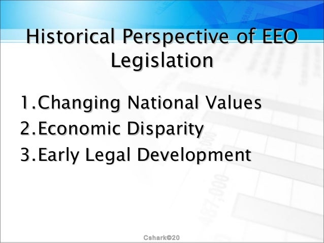 equal employment opportunity hrm Us equal employment opportunity commission  best practices for employers and human resources/eeo professionals  establish neutral and objective criteria to.