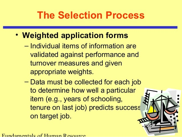 Foundations of Selection on complete application form, standard application form, training application form,