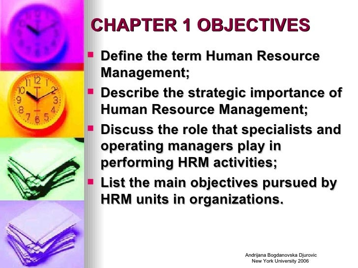 importance of strategic human resource management The key functions of the human resources management (hrm) team include recruiting people, training them, performance appraisals, motivating employees as well as workplace communication, workplace safety, and much more the beneficial effects of these functions are discussed here.