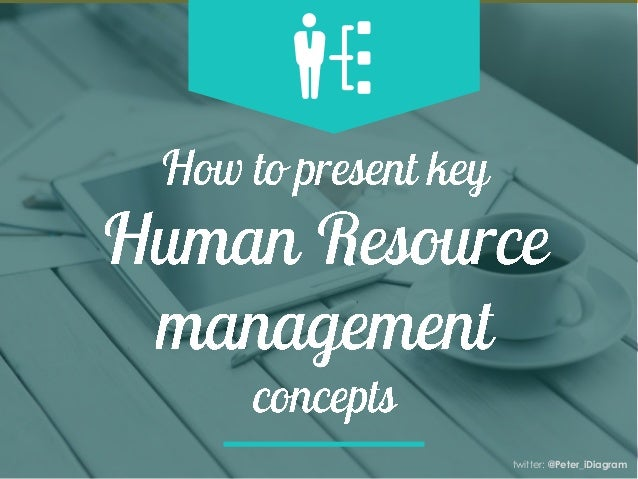 Presenting Human Resource Management Concepts