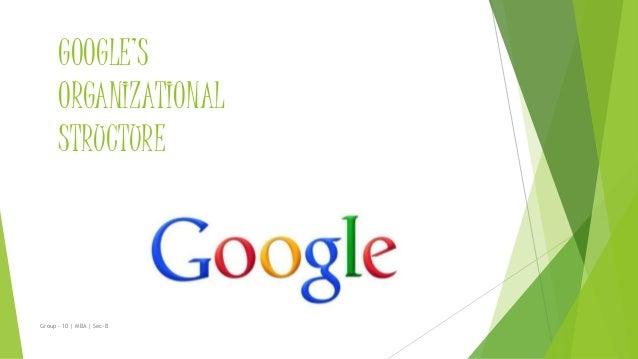 Google Oraganization Culture