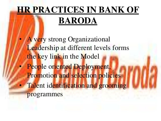 effective hrm practise in banking sector Corporate governance practices in the banking sector ankit katrodia assistant professor, shri h d gardi mba college, nyara, rajkot  corporate governance would lead to effective & more meaningful  global tendency to consolidation in the banking sector and a need in further capitalization.