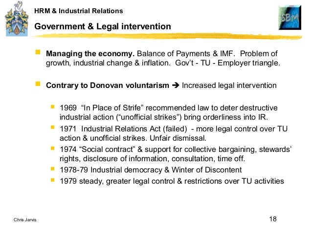 unceasing power struggle in industrial relations This article begins by summarising a case study of strike violence in a steelworks during the apartheid period, and argues that political struggle played a considerably more significant role in undermining the institutionalisation of industrial relations than previous analysis had suggested.