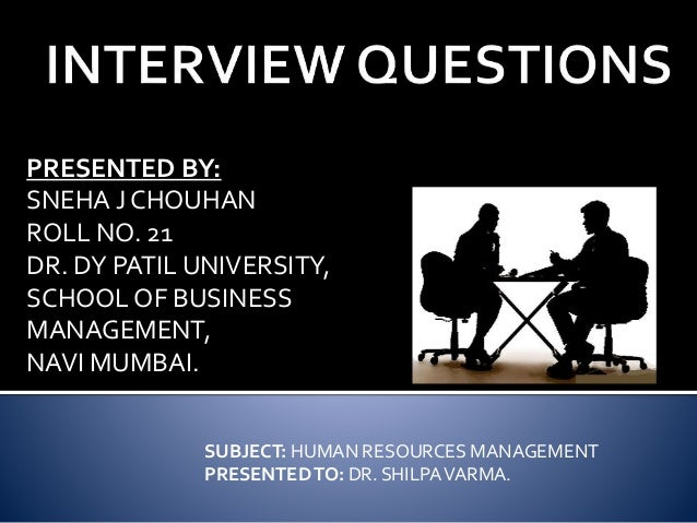 Hrd interview