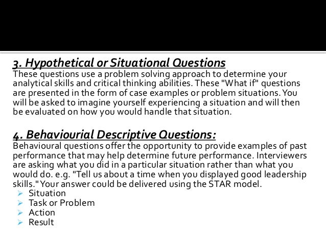 situational interview questions and answers youtube