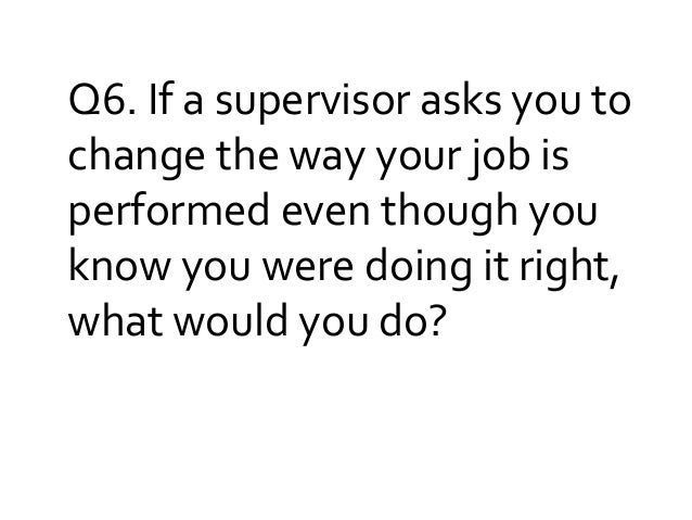 Interview Questions- Human Resource Management