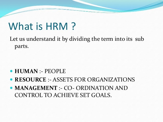 hrm and its importance Importance of hrp planning is very important to our everyday activities several definitions have been given by different writers what planning is all about and its importance to achieving our objectives.